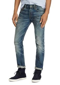 Ralph Lauren Polo Polo Ralph Lauren Varick Slim Straight Fit Jeans in Blue