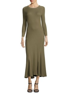 Polo Ralph Lauren Waffle-Knit Maxi Dress