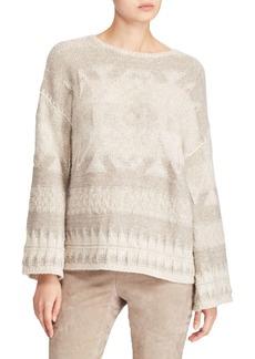 Ralph Lauren: Polo Long Bell-Sleeve Sweater