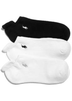 Ralph Lauren: Polo Polo Ralph Lauren Women's Cotton 3 Pack Socks