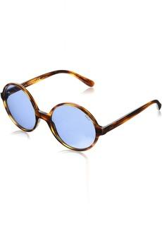Ralph Lauren: Polo Polo Ralph Lauren Women's Plastic Woman Round Sunglasses  55 mm