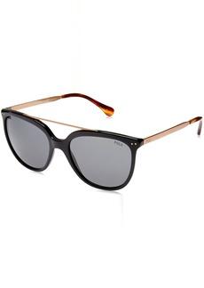 Ralph Lauren: Polo Polo Ralph Lauren Women's Plastic Woman Square Sunglasses  54 mm