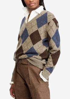 Ralph Lauren: Polo Polo Ralph Lauren Wool V-Neck Sweater