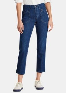 Ralph Lauren: Polo Polo Ralph Lauren Workwear Denim Cotton Skinny Jeans
