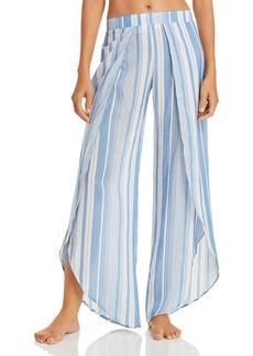 Ralph Lauren: Polo Polo Ralph Lauren Yarn Dyed Stripe Wrap Swim Cover-Up Pants