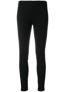 Ralph Lauren: Polo Polo Ralph Lauren zip detail skinny trousers - Black