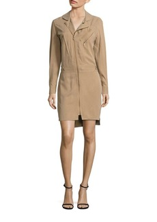 Polo Ralph Lauren Zip-Front Utility Dress