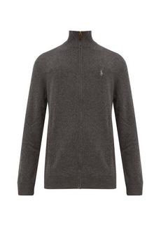 Ralph Lauren Polo Polo Ralph Lauren Zip-through high-neck wool sweater