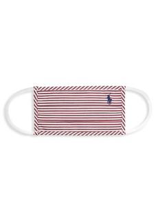 Ralph Lauren: Polo Polo Striped Face Mask