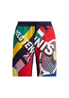 Ralph Lauren Polo Polo Tennis Interlock Drawstring Shorts