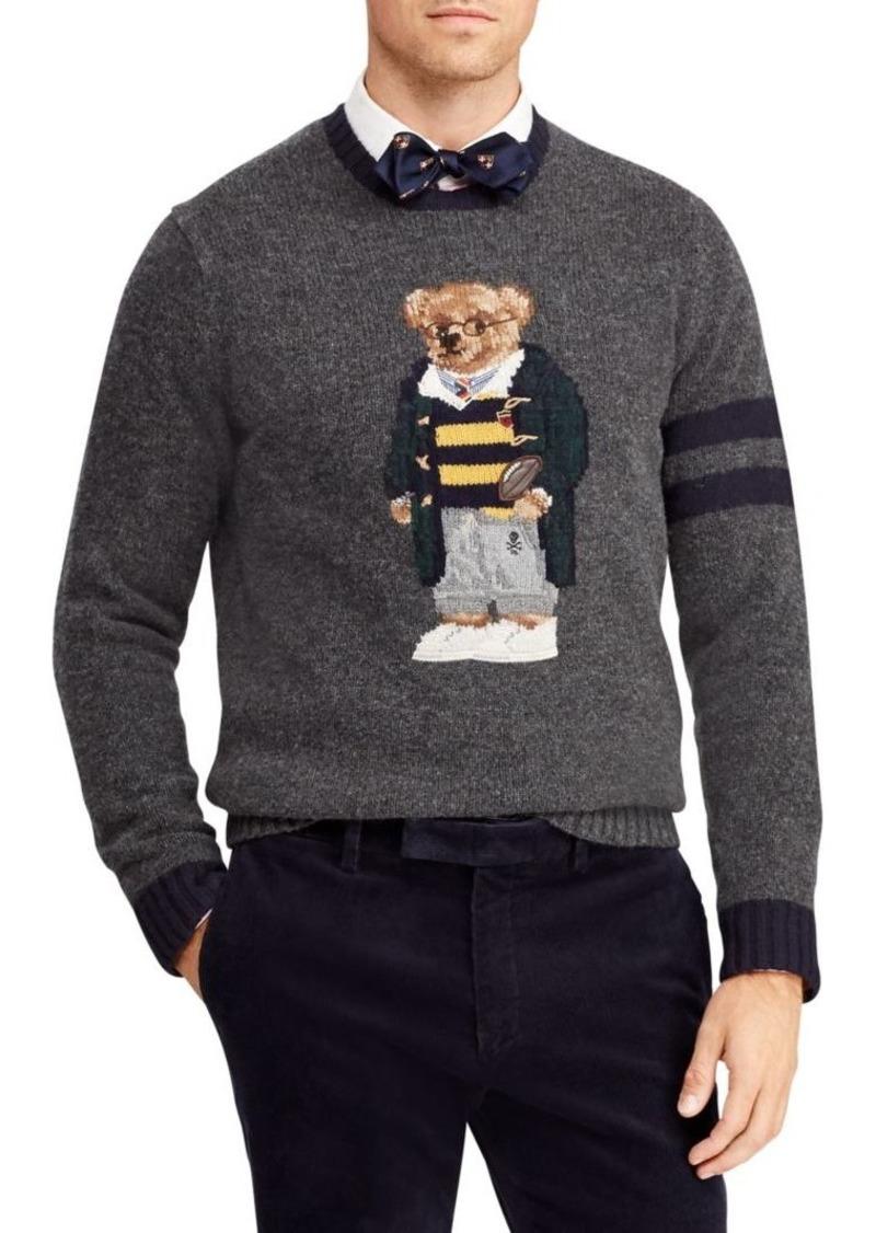 de4ee5b3e Ralph Lauren Polo UniversityPolo Bear Wool   Cashmere Sweater