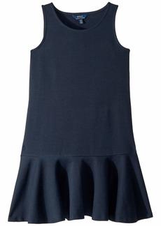 Ralph Lauren: Polo Ponte Sleeveless Dress (Little Kids/Big Kids)