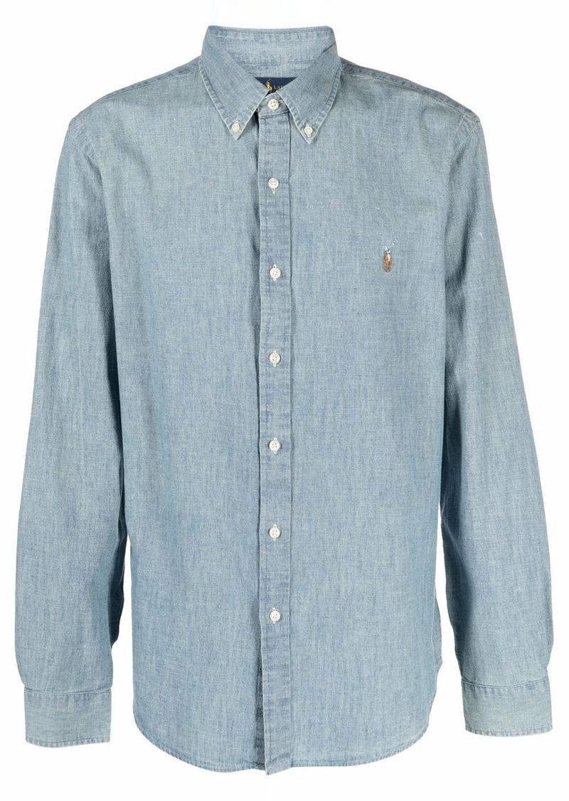 Ralph Lauren Polo Polo Pony button-collar shirt
