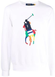 Ralph Lauren Polo Pony-print crew-neck sweatshirt