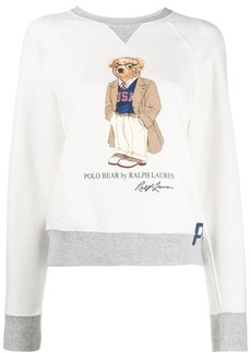 Ralph Lauren: Polo preppy bear fleece sweatshirt