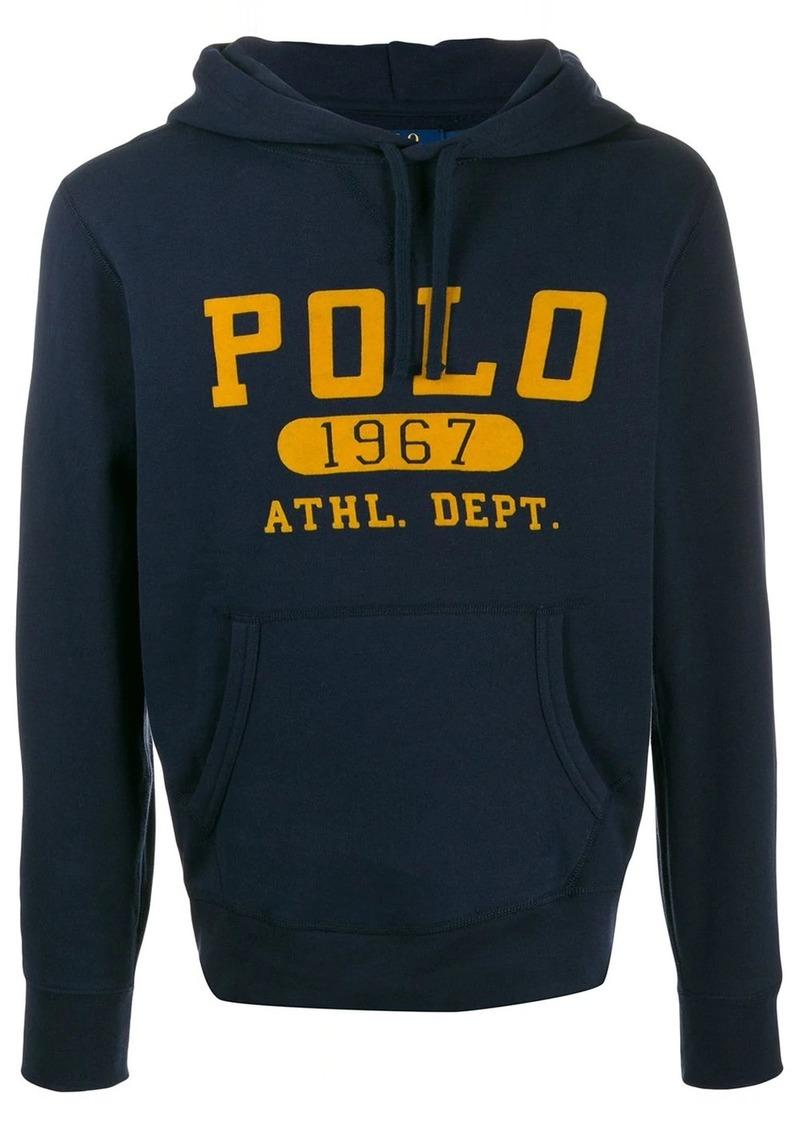 Ralph Lauren Polo printed logo hoodie