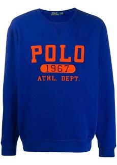 Ralph Lauren Polo printed logo sweatshirt
