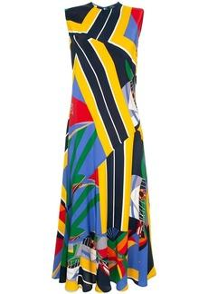 Ralph Lauren: Polo printed maxi dress