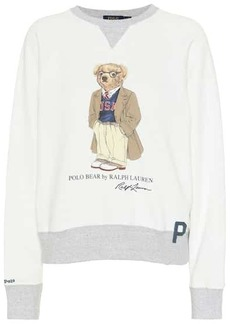 Ralph Lauren: Polo Printed stretch-cotton sweatshirt