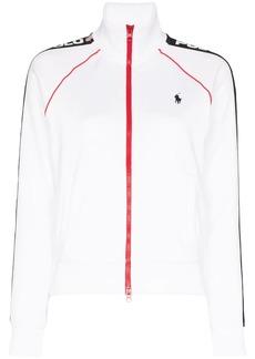 Ralph Lauren: Polo zip-up logo-print track jacket