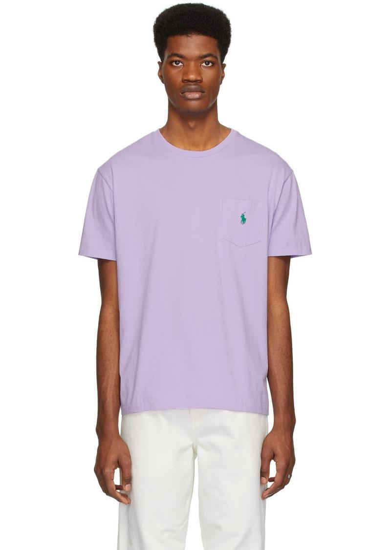Ralph Lauren Polo Purple Pocket T-Shirt