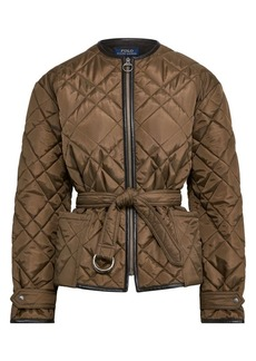 Ralph Lauren: Polo Quilted Bomber Jacket