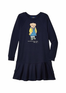 Ralph Lauren: Polo Raincoat Bear Terry Dress (Little Kids/Big Kids)