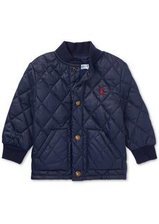 Ralph Lauren: Polo Ralph Lauren Baby Boys Quilted Baseball Jacket