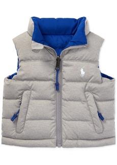 Ralph Lauren: Polo Ralph Lauren Baby Boys Reversible Quilted Vest