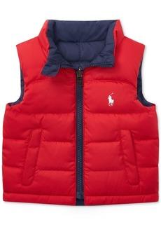 Ralph Lauren: Polo Ralph Lauren Baby Boys Reversible Ripstop Vest