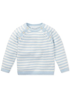 Ralph Lauren: Polo Ralph Lauren Baby Boys Striped Cotton Sweater