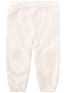 Ralph Lauren: Polo Ralph Lauren Baby Girls Cotton Pull-On Pants