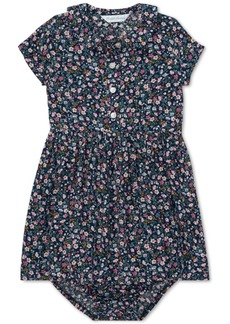 Ralph Lauren: Polo Ralph Lauren Baby Girls Floral Dress & Bloomer
