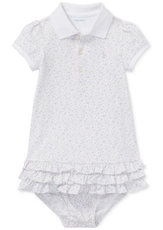 Ralph Lauren: Polo Ralph Lauren Baby Girls Floral-Print Polo Dress