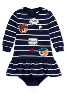 Ralph Lauren: Polo Ralph Lauren Baby Girls Striped Patch Dress