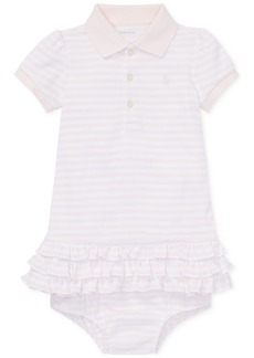 Ralph Lauren: Polo Ralph Lauren Baby Girls Striped Polo Dress