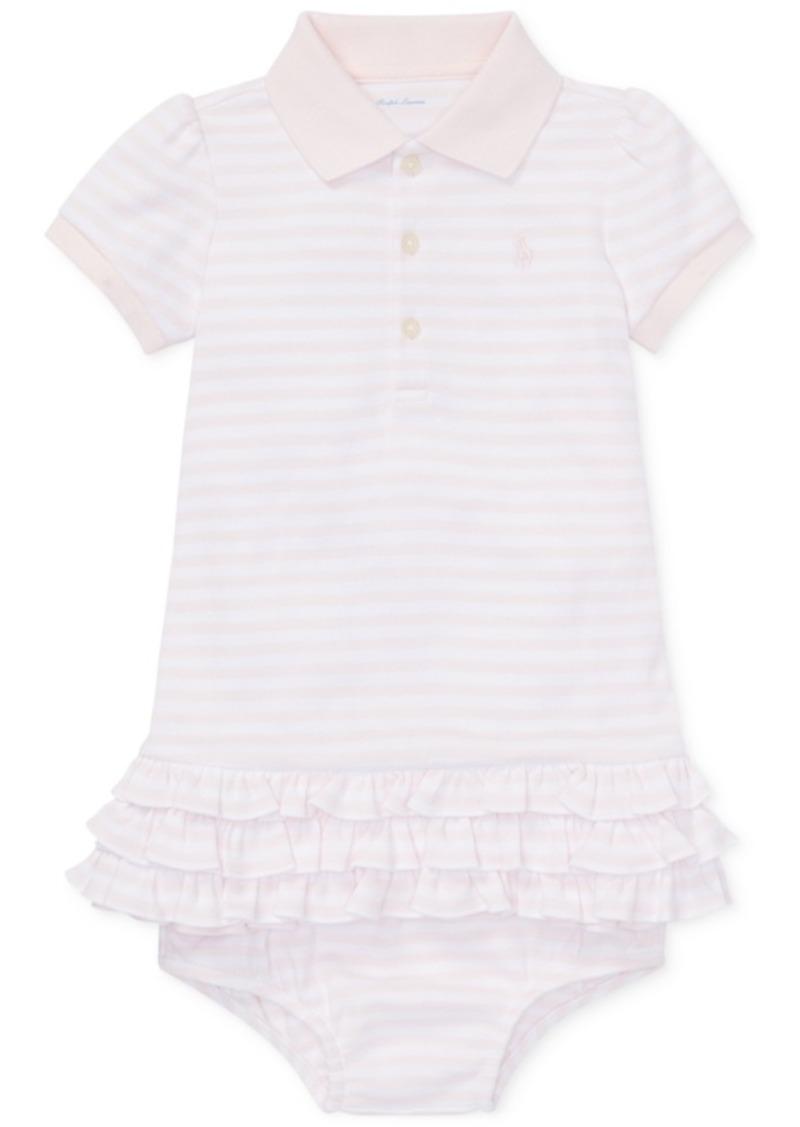 a1329775cb16 Ralph Lauren  Polo Ralph Lauren Baby Girls Striped Polo Dress