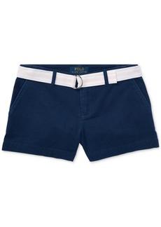 Ralph Lauren: Polo Ralph Lauren Big Girls Chino Shorts