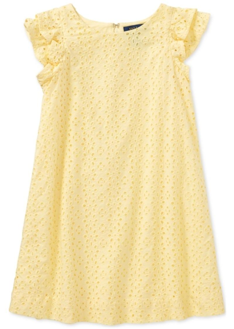 5a5e1962f Ralph Lauren: Polo Ralph Lauren Eyelet Cotton Cotton Batiste Dress ...