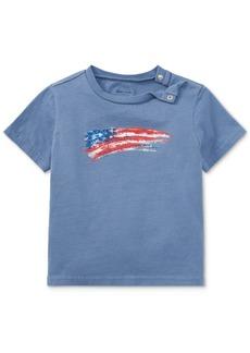 Ralph Lauren: Polo Ralph Lauren Cotton Jersey Graphic T-Shirt, Baby Boys