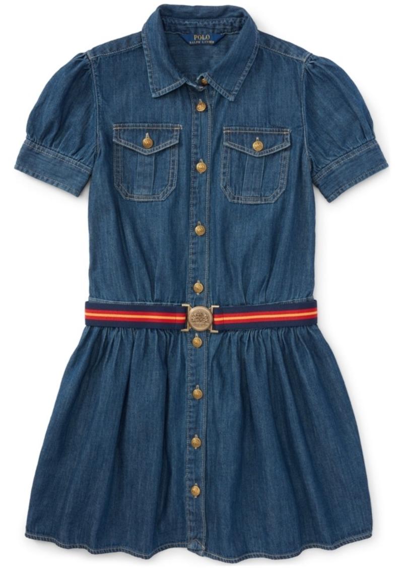 Ralph Lauren Polo Ralph Lauren Denim Shirtdress Toddler