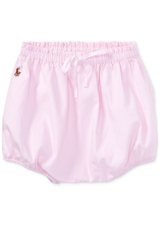 Ralph Lauren: Polo Ralph Lauren Oxford Cotton Bloomer, Baby Girls