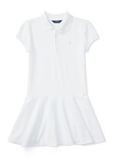 Ralph Lauren: Polo Ralph Lauren Little Girls Pleated Polo Dress
