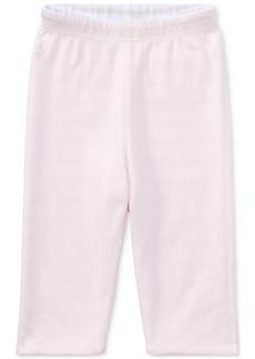 Ralph Lauren: Polo Ralph Lauren Reversible Striped Cotton Pants, Baby Girls