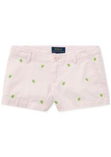 Ralph Lauren: Polo Ralph Lauren Graphic Cotton Shorts, Toddler Girls