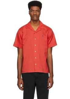 Ralph Lauren Polo Red Camp Short Sleeve Shirt
