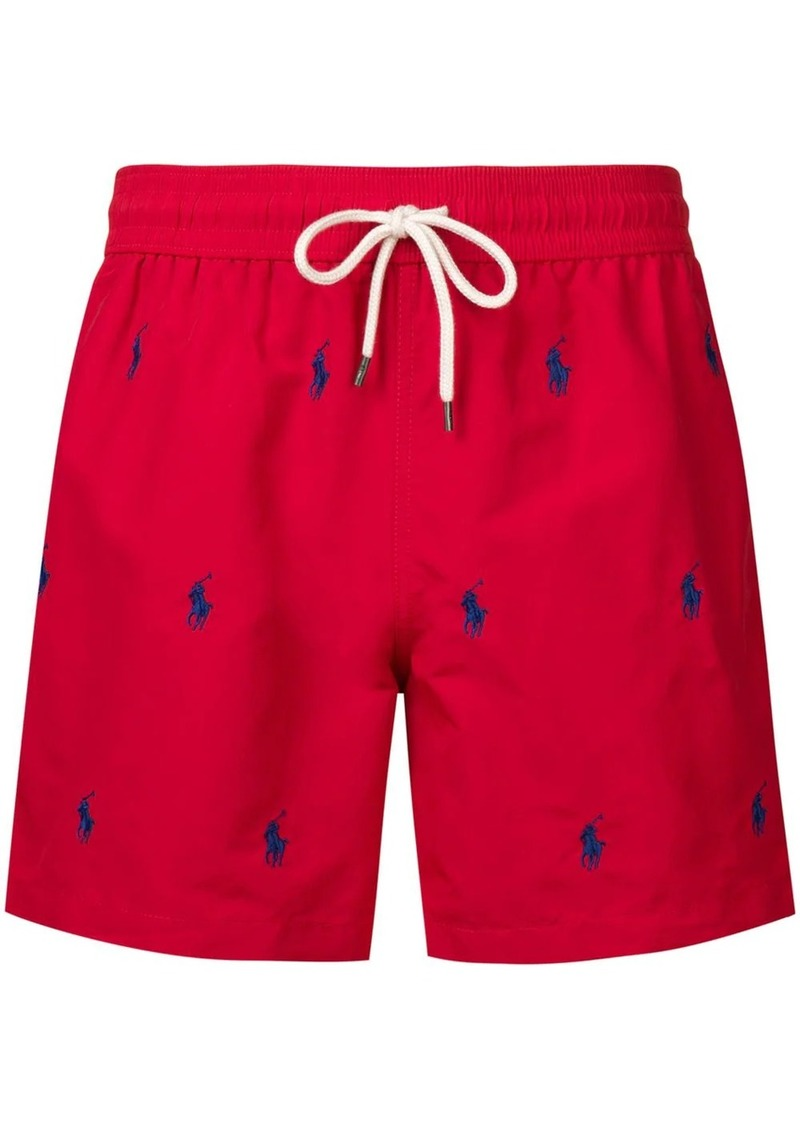 Ralph Lauren Polo red swimming shorts
