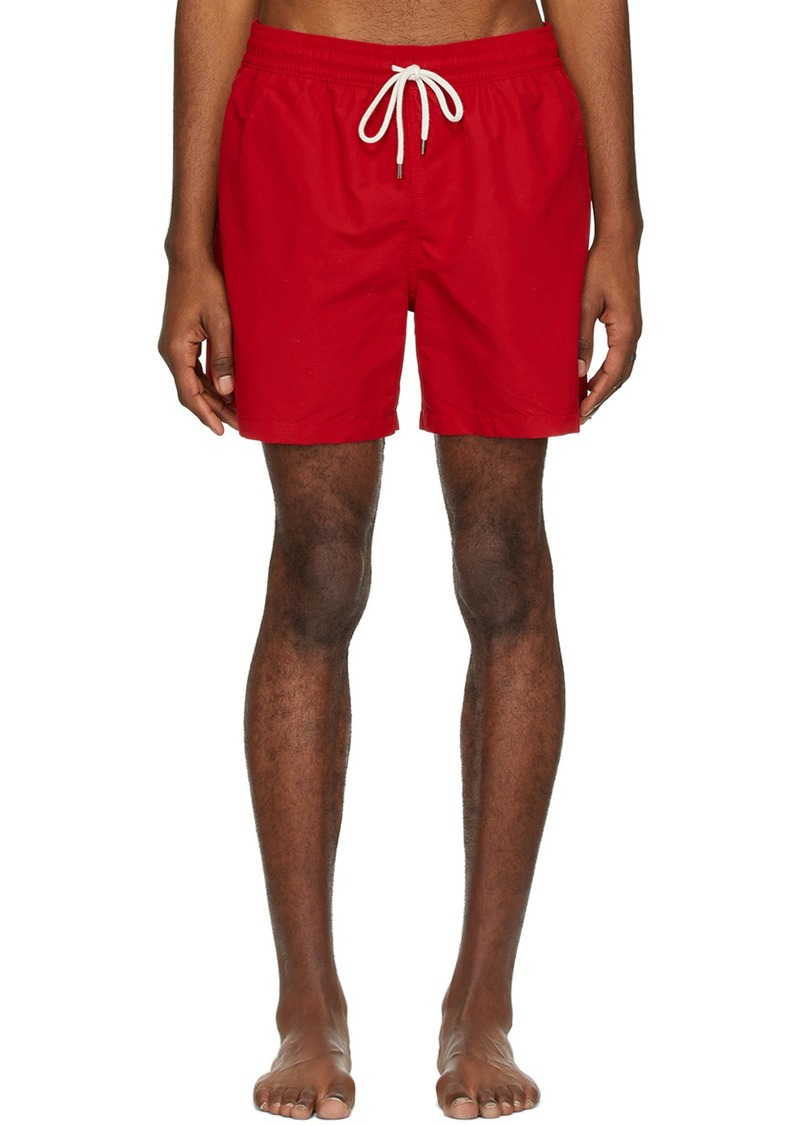 Ralph Lauren Polo Red Traveler Swim Shorts
