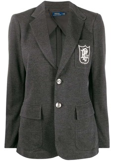 Ralph Lauren: Polo regular-fit embroidered logo blazer