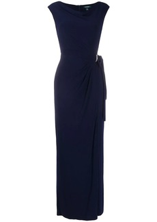 Ralph Lauren: Polo rhinestone-embellished evening dress